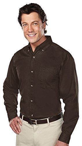 Tri-Mountain 770 Professional w/Dupont™ Teflon Stain Resistant Shirt, Brown, M