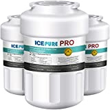 IcePure PRO MWF NSF 53&42 Certified Refrigerator Water Filter, Compatible with ge mwf water filters for refrigerators, MWFP, MWFA, GWF, GWFA, HDX FMG-1, Kenmore 9991, 46-9991, Advanced, 3PACK