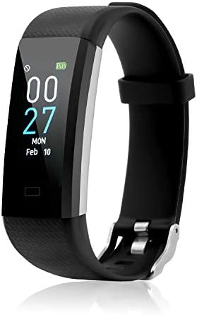 Fitness Tracker with Blood Pressure Heart Rate Sleep Monitor Temperature Monitor, Activity Tracker Smart Watch Pedometer Step Counter for iPhone & Android Phones for Kids Man Women 1