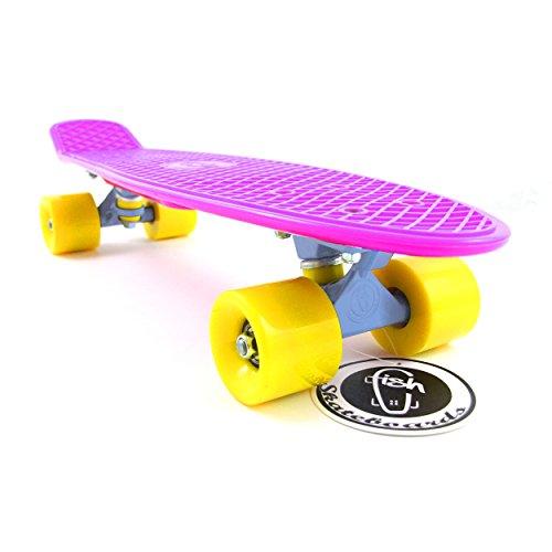 Fish Skateboard Purple 22