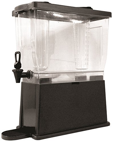 - Grindmaster Cecilware CBDP3BLK Cold Beverage Plastic Bowl Dispenser, 3-Gallon, Clear