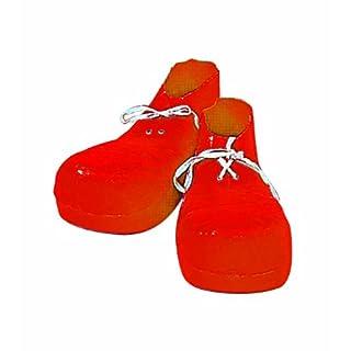 Forum Novelties Jumbo Clown Shoes, Red