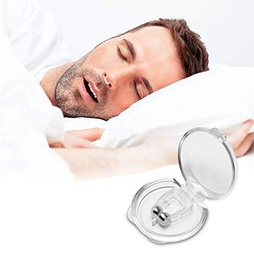 Anti-Snoring Device, Snoring Relief, Snoring and Hemostasis, Nostril Dilator, Comfortable and Flexible Snoring Aids, Comfortable Sleep