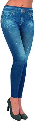 Original Jeans Figur Mujer Tv set Slim blau leggings Body Unser Blau Jeggings 2er xw1XXZRq