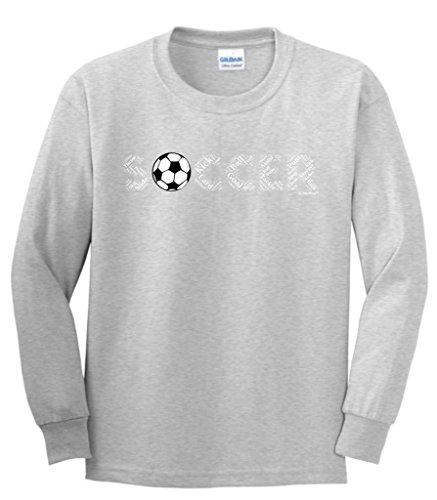 Soccer Gift Soccer Word Collage Soccer Fan Gift Youth Long...