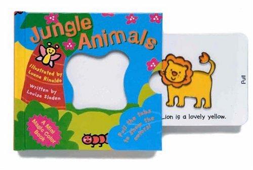 American Cut Pinwheel (Jungle Animals (Mini Magic Colour))