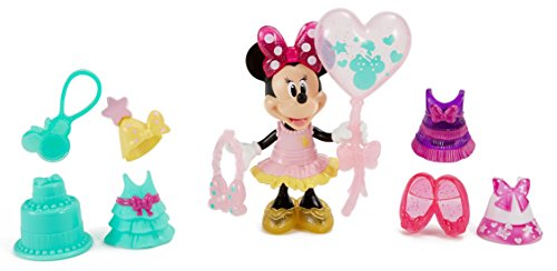 Fisher-Price Disney Minnie Birthday Gala Minnie Figure (Minnie Outfit)