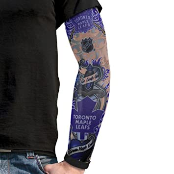nhl toronto maple leafs light undertone tattoo sleeve amazon ca rh amazon ca Leaf Tattoo Sleeve Maple Leaf Tattoo Designs