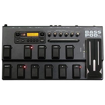 Amazon com: Line 6 Bass PODxt Live: Musical Instruments