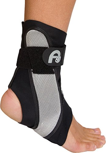 Aircast A60 Ankle Support Brace Right Foot Black Medium