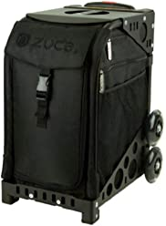 Zuca Stealth Black Sport Insert Bag and Sport Frame with Built-In Seat (Choose