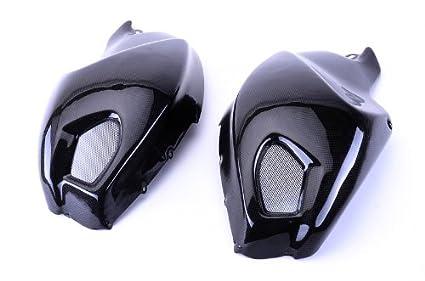 Amazon Com Bestem Cbdu 696 Tsp Black Carbon Fiber Side Tank Covers