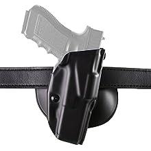 Safariland 6378 ALS, Paddle & Belt Slide Holster, Colt Government, Plain Black, Right Hand