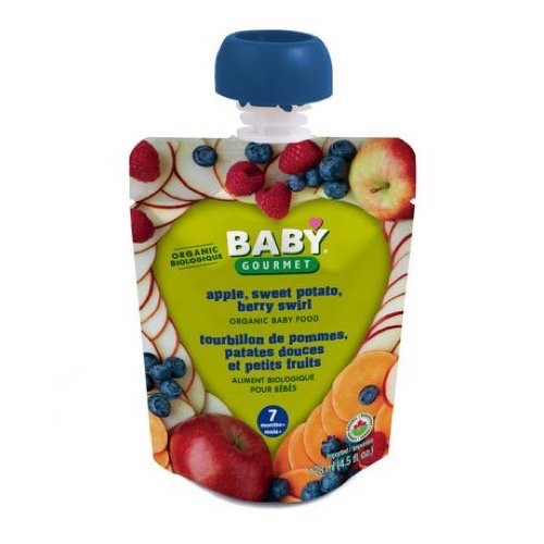 Baby Gourmet Apple Sweet Potato Berry Swirl, 1-Pack Baby Gourmet Foods Inc ASPB4BGCSCD0012