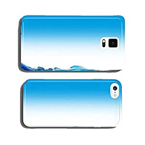 Water with bubbles cell phone cover case Samsung S6