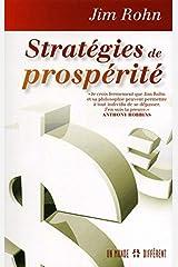 Stratégies de prospérité (French Edition) Paperback