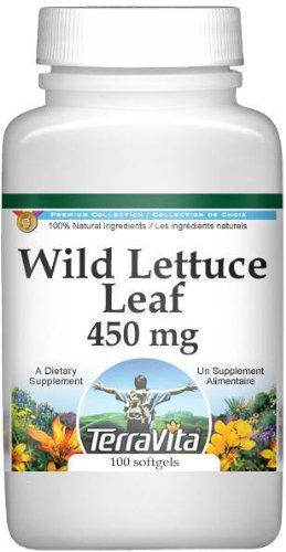 Wild Lettuce Leaf - 450 mg (100 capsules, ZIN: 514665)
