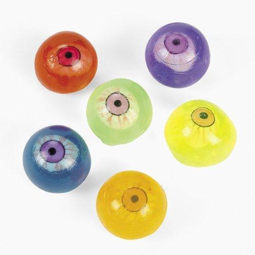 Neon Sticky Eyeballs (1 dz) (1 Dz Balls)