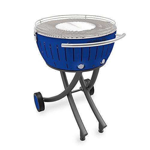 Amazon.com: LotusGrill XXL con ruedas, color azul: Jardín y ...