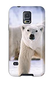 New Shockproof Protection Case Cover For Galaxy S5/ Polarbears Case Cover