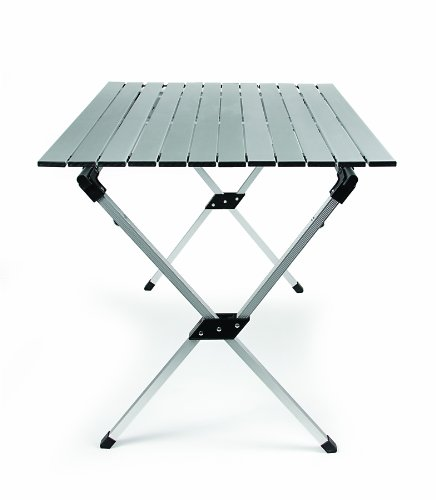 Camco 51892 Aluminum Roll Up Table with Carrying Bag