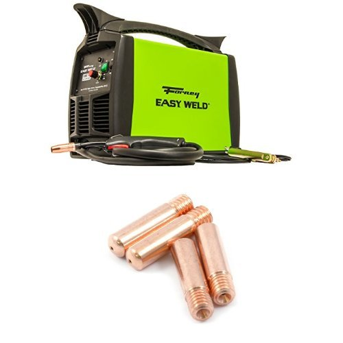 Forney Easy Weld 299 125FC Flux Core Welder with 4-Pack Cont