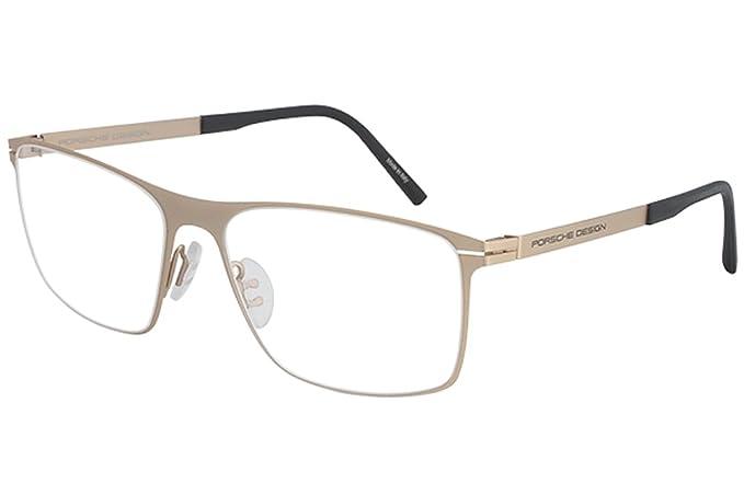 079eb9ca8535 Amazon.com  Porsche Design Mens Eyeglasses P 8256 P8256 B Gold Full ...