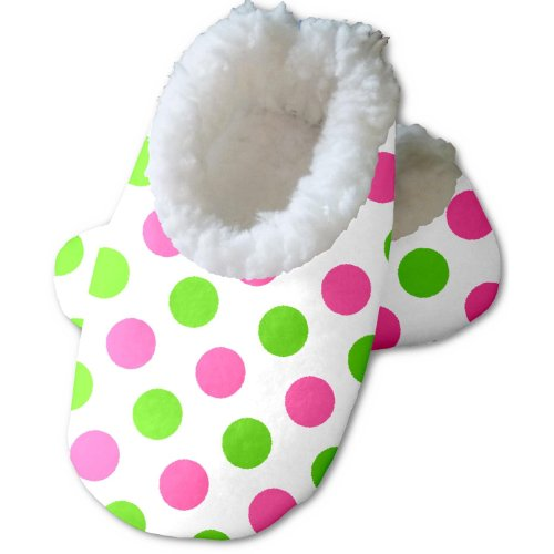 Snoozies Baby's Preppy Dot Footies - (Preppy Dots)