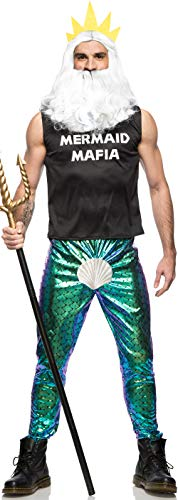 Seeing Red Manly Merman Costume (Medium) -