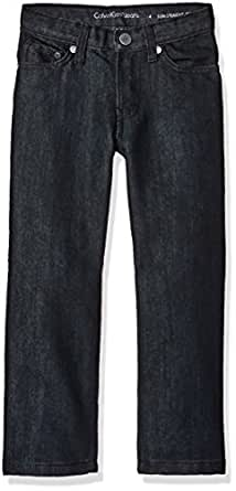 Calvin Klein Big Boys Slim Straight Denim - Beximco, Midnight, 16
