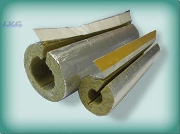 Steinwolle Rohrisolierung Alukaschiert 35 X 34 Mm 100 Enev Amazon