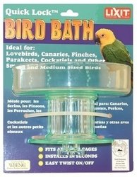 Lixit Quick Lock Plastic Bird Bath 5in x 3in Sale Lixit - Miscellaneous Bird Products