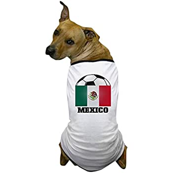 CafePress - Mexico Soccer Dog T-Shirt - Dog T-Shirt, Pet Clothing, Funny Dog Costume