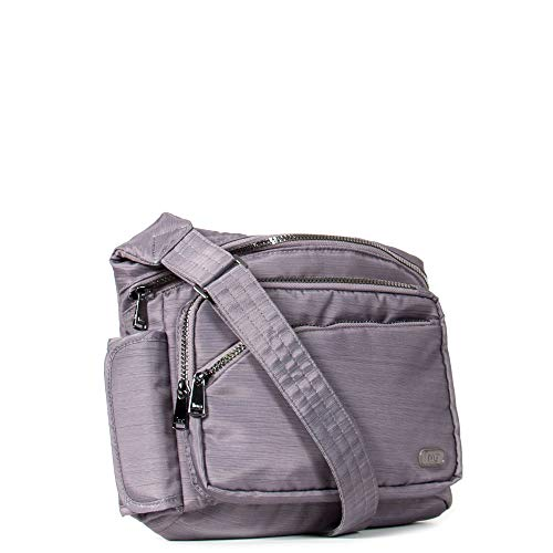 Sidekick Pack Excursion (Lug Women's Sidekick Excursion Pouch, Brushed Pearl Cross Body Bag One Size)