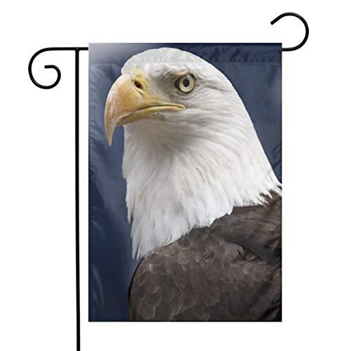 Kjaoi Eagle Head Festival Garden Flag Front Door Flag Decorative Home Outdoor Flag 1218 - Head Eagles Eagle