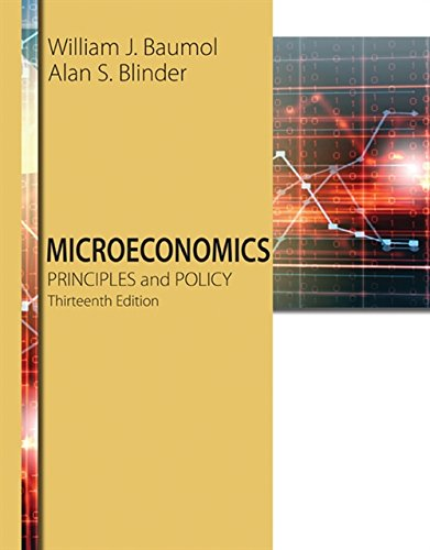Microeconomics: Principles and Policy (MindTap Course List)