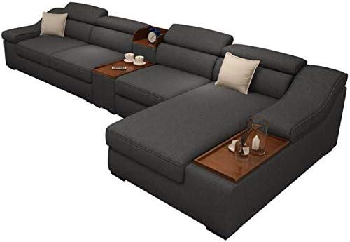 XIAOSUNSUN Nuevo sofá de Tela Lavable Muebles de Sala de ...