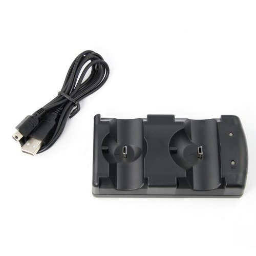 (Dual Charging Dock USB for PS3 Controllers PS3 Move)