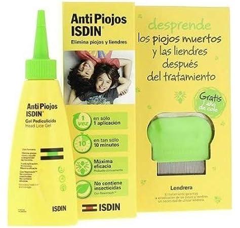 ISDIN Anti Piojos Set De Gel Pediculicida Y Peine: Amazon.es