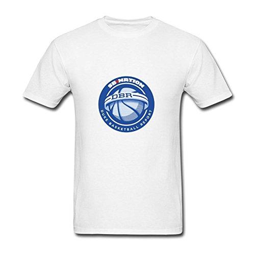 Amazy Duke Basketball Report Men's shirt White S
