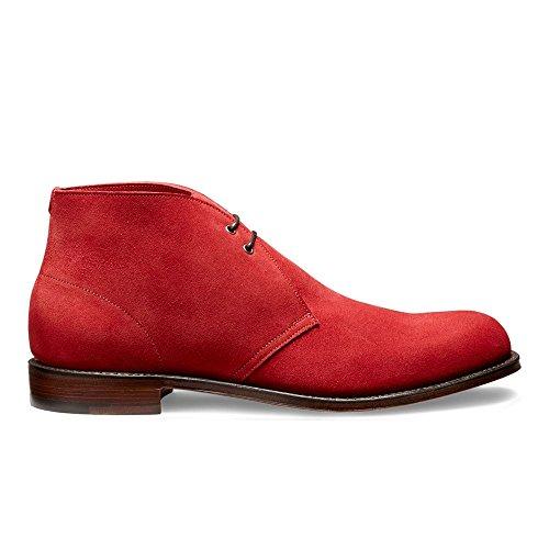 Dexter Desert Boot in Melograno Red Castoro Suede Red 3SJVrn