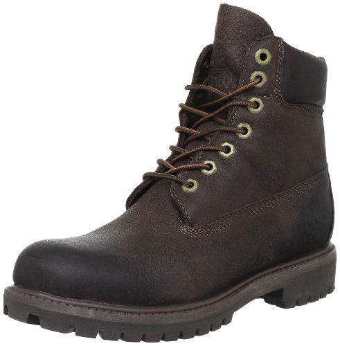 Timberland 6 FTB_6 in Premium Boot, Stivali Uomo Marrone (Marron (Dark Brown))