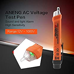 ANENG Professional VD801 Non-Contact Induction Test Pen Multifunctional AC Voltage Detector Electrical Tester Pen Tool