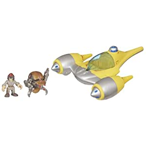 Star Wars Jedi Force Naboo Starfighter With Anakin R2D2