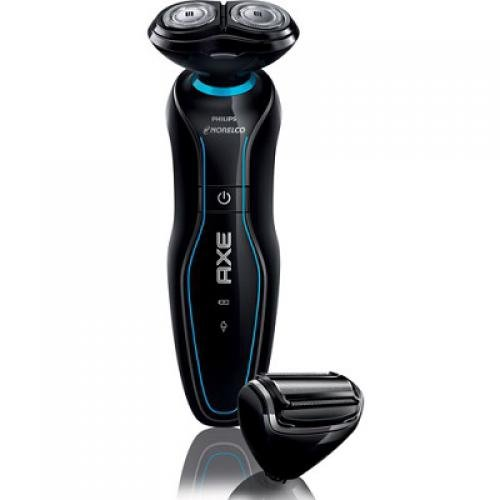 Philips Norelco Cordless All-in-One Advanced Wet & Dry Rechargeable Electric Shaver For Sensitive Skin With Shave Sensor Technology