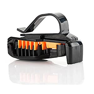 Car Sunglasses Clip - Sunglass Holder Attaches to You Visor to Keep Your Eyewear Within Easy Reach - Easy to Install - Works With Any Visor