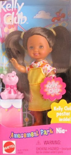 Barbie Kelly AMUSEMENT PARK NIA Doll AA w Poster Inside (2000) by Kelly Club Amusement Park Nia: Amazon.es: Juguetes y juegos