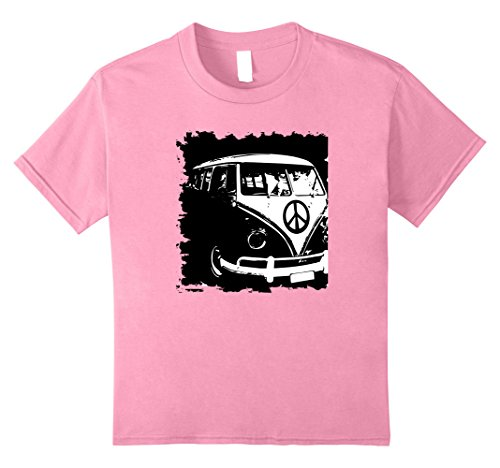 Kids V-Dub Bus Van American Hot Rod Classic Car Surfer Du...