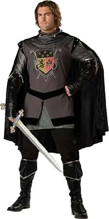 InCharacter Costumes Men's Dark Knight Adult Costume, Gray/Black, Medium