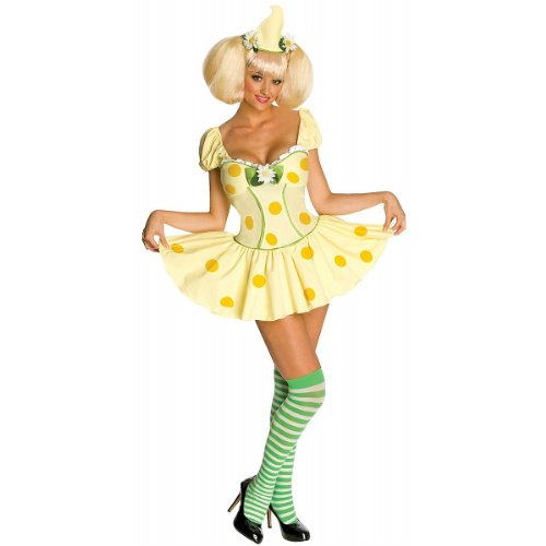 Secret Wishes Strawberry Shortcake Lemon Meringue Costume, Multi, Large (Girls Blueberry Muffin Wig)